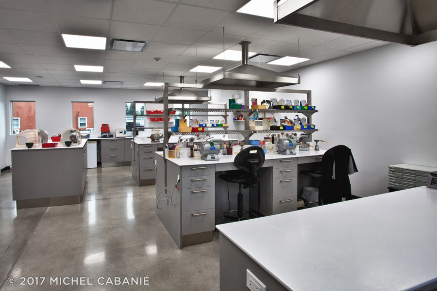 Dental lab cabinets